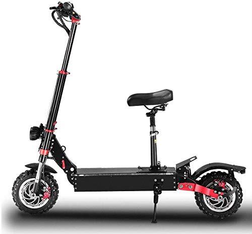 LUO Bicicletas Eléctricas, Scooter Eléctrico Neumático Todoterreno sin Cámara de 11 Pulgadas...
