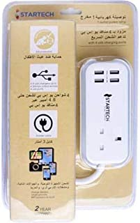 Power connection 3 m 1 socket 4 ports USB Stark