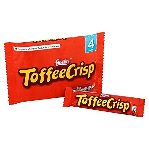 Toffee Crisp Caramel Croquant Multipack 4 X 38G - Paquet de 6