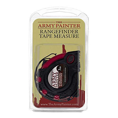 The Army Painter – Rangefinder Tape Measure | Einziehbares Messwerkzeug in Zentimetern und Zoll | Maßband für Wargames, Rollenspiele und Tabletop Miniatur Modell Malerei