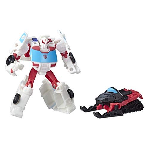 Hasbro Transformers - Cyberverse Autobot Ratchet con Spark Armor, se combina con Blizzard Breaker para potenciarse, Apto para niños a Partir de 6 años, 10 cm, Multicolor, E4299ES0