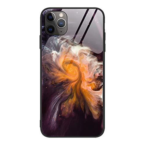 Bakicey - Carcasa para iPhone 11 Pro, mármol brillante, para iPhone 11 Pro, protección antiarañazos, mármol, protector de pantalla para Apple iPhone 11 Pro (5,8 pulgadas), 05