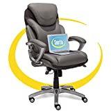 Serta AIR Health and Wellness Executive Office Chair High Back Ergonomic for Lumbar Suppor...