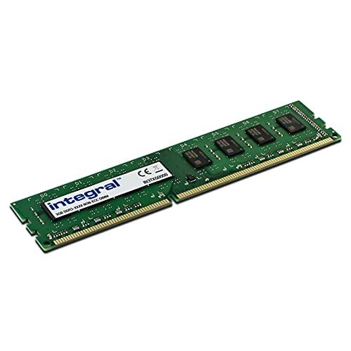 Integral DDR3 8 Go 1600Mhz DIMM PC3-12800 CL11 1.5V 512X8 Kit Mémoire Ordinateur de Bureau pour PC et Mac IN3T8GNAJKI