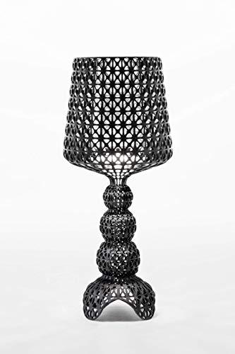 Kartell Mini Kabuki, Table Lamp, Schwarz Undurchsichtige Farben