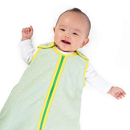 Great Price! baby deedee Sleep Nest Lite Sleeping Bag Sack, Lemon Mint, Medium (6-18 Months) (278)
