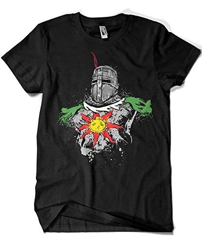 2030-Camiseta Premium, Dark Souls - Praise The Sun (Dr.Monekers) L