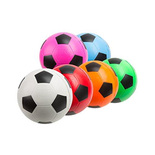 puff de pelota de futbol de la marca POOF