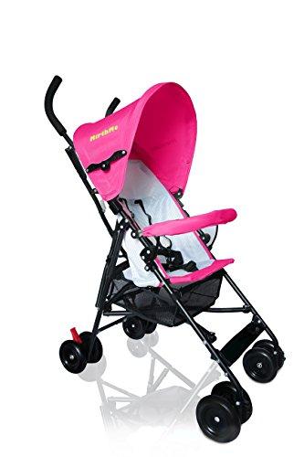 MirthMe luz peso bebé carrito/cochecito/cochecito de bebé (color rosa) Original con cubierta...