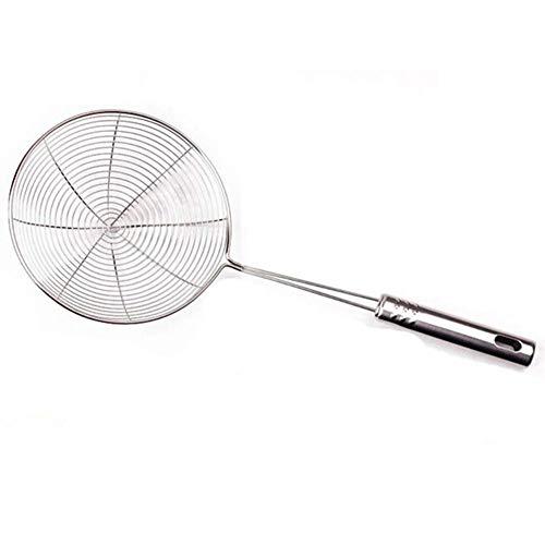 Acero inoxidable sopa alimentos cucharón cuchara colador cocina cocina filtro plata excelente calidad