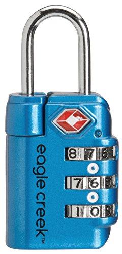 Eagle Creek Travel Safe TSA Lock, Brilliant Blue, One Size
