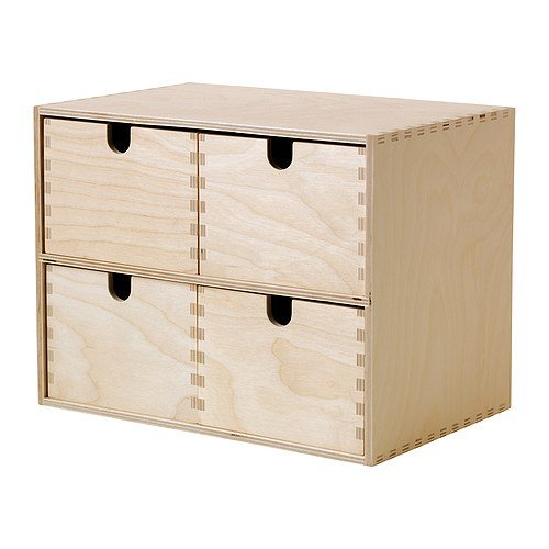 Ikea MOPPE -Mini Kommode Birkensperrholz - 29x18x22 cm