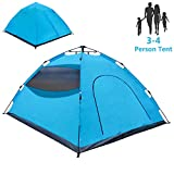 LETHMIK Pop Up Tent, Tents for Camping 2 3 4 Person - 30 Seconds Easy Up Camping Tent, Waterproof Instant Backpacking...