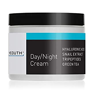 YEOUTH Day Night Moisturizer for Face with Snail Extract, Hyaluronic Acid, Green Tea, and Peptides, Anti Aging Day Cream or Night Cream Moisturizer for Dry Skin, 4 oz … (4oz) (B06X9ZCFG4) | Amazon price tracker / tracking, Amazon price history charts, Amazon price watches, Amazon price drop alerts