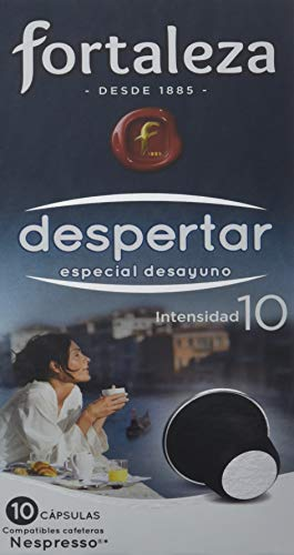 Café FORTALEZA - Cápsulas de Café Despertar Compatibles con Nespresso - Pack 24 x 10 - Total: 240 Cápsulas