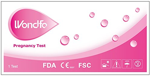 100 Wondfo Home HCG Pregnancy Test Strips