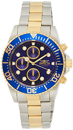 Invicta Men's 1773 Pro Diver 18k Gold Ion-Plating and Stainless Steel Watch