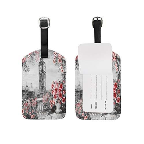 Summer London Big Ben - Etiquetas para equipaje (1 unidad)