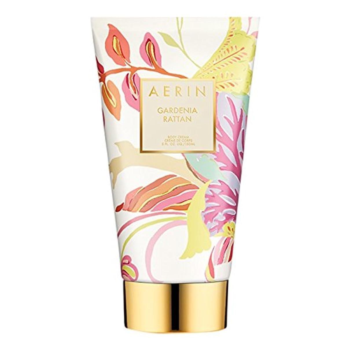 欠かせない画面施しAerinクチナシ籐ボディクリーム150ミリリットル (AERIN) (x2) - AERIN Gardenia Rattan Body Cream 150ml (Pack of 2) [並行輸入品]