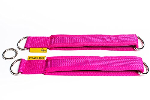 Strapilates Pink Reformer Straps. The Fashionable and hygienic Solution for Your Pilates Needs.