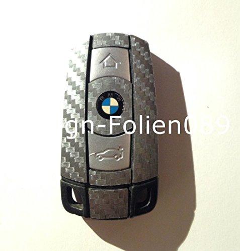 Carbon film de protection d'écran, anthracite/motif clés key