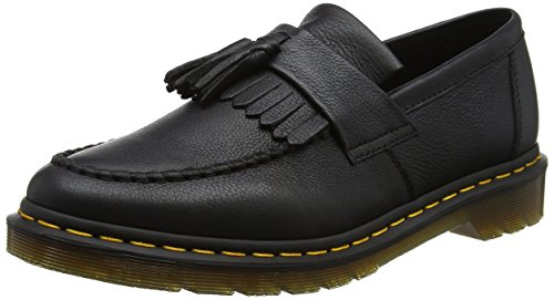 Dr. Martens Damen Adrian Virginia Slipper, Schwarz (Black), 36 EU