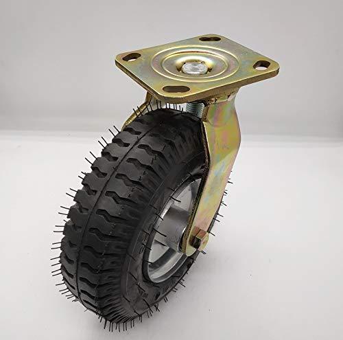 Trolley wielen, transport wielen, pomp wiel 8-inch 10-inch zware pneumatische Caster Ind Casters 250 (kg)