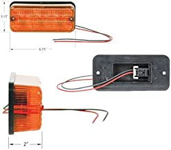 LED Tail Light - 12V - 24V 3W Flasher Amber Case IH 2166 2388 2188 1660 1688 7120 2366 1680 1640 Versatile International 3688 986 Hydro 186 1486 1460 1086 886 786 1480 1586 McCormick New Holland Ford