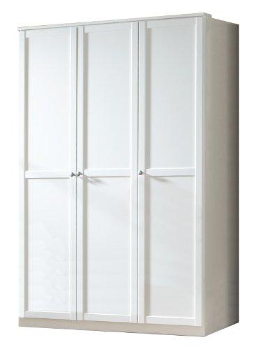 Wimex Kleiderschrank/ Drehtürenschrank Filou, (B/H/T) 135 x 198 x 58 cm, Weiß