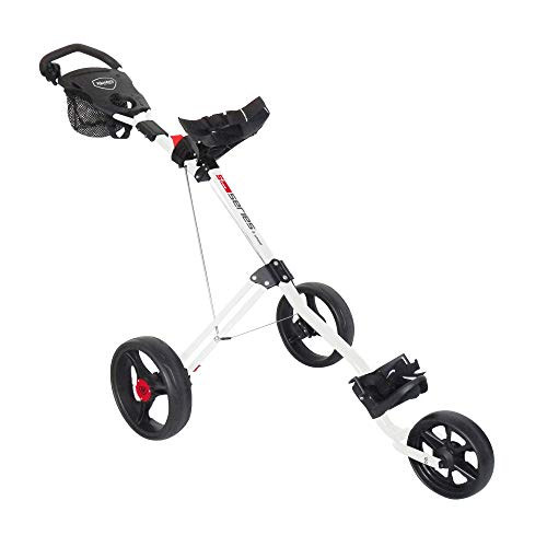 Masters Golf - 5 Series 3 Wheel Push Trolley - Wh