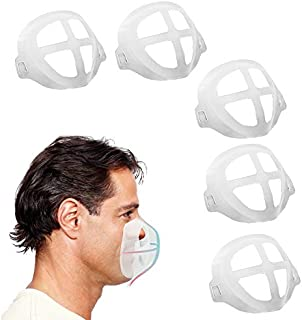 3D Bracket for Comfortable Breathing, Face Bracket Breathing Cup Soft Support Frame 5 Pack