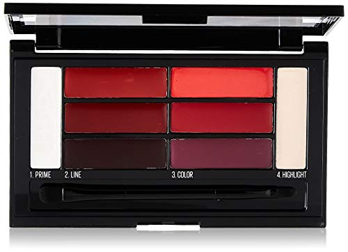 Maybelline Color Drama Lip Contour Palette Crimson Vixen 4g