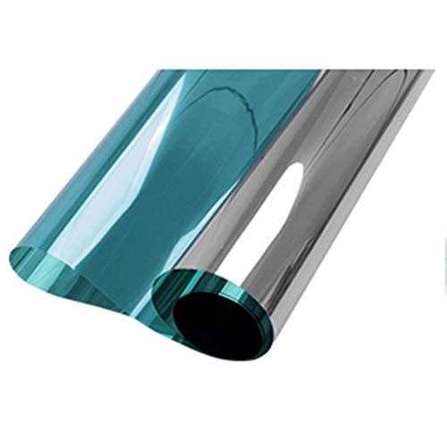 ZXL Raamfolie, zonwerende folie, wegwerp-, glazen scherm, zonwering, cellofaan, thuis, slaapkamer, balkon, raamsticker, zonwering, warmte-isolatie (IR-index): 88%