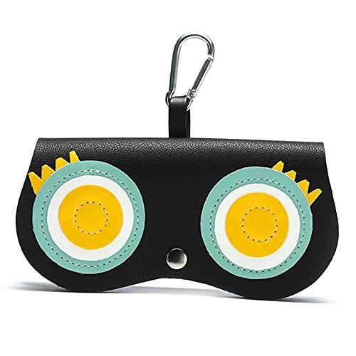 KENSG Lunettes de soleil Sac Lunettes Boîte Eyeglasses Cover Cover Clip Sunglasses Titulaire du boîtier (Color : 7, Size : M)