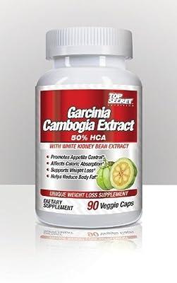 Top Secret Nutrition Garcinia Cambogia Extract 90 Veggie Caps