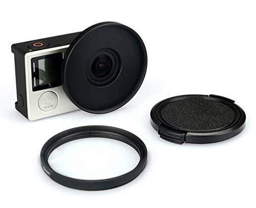 UV Lens-filter 52mm met Lensbeschermer voor GoPro 3 3+ 4