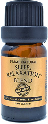 Sleep & Relaxation Essential Oil Blend 10ml - Pure Natural Undiluted Therapeutic Grade for...