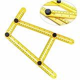 Strumento di misurazione modello angolatore righello a quattro lati meccanismo scorrevole a Y per artigiani