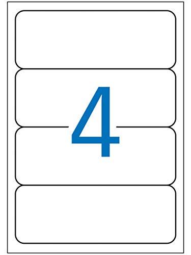 Apli Paper 1233 Etiquetas Adhesivas para Archivo Multifiunción 190x61 25H