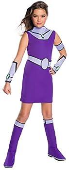 Rubie s Teen Titans Go Movie Costume Deluxe Starfire  Medium