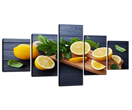 Top sliced fruits wall picture for 2021