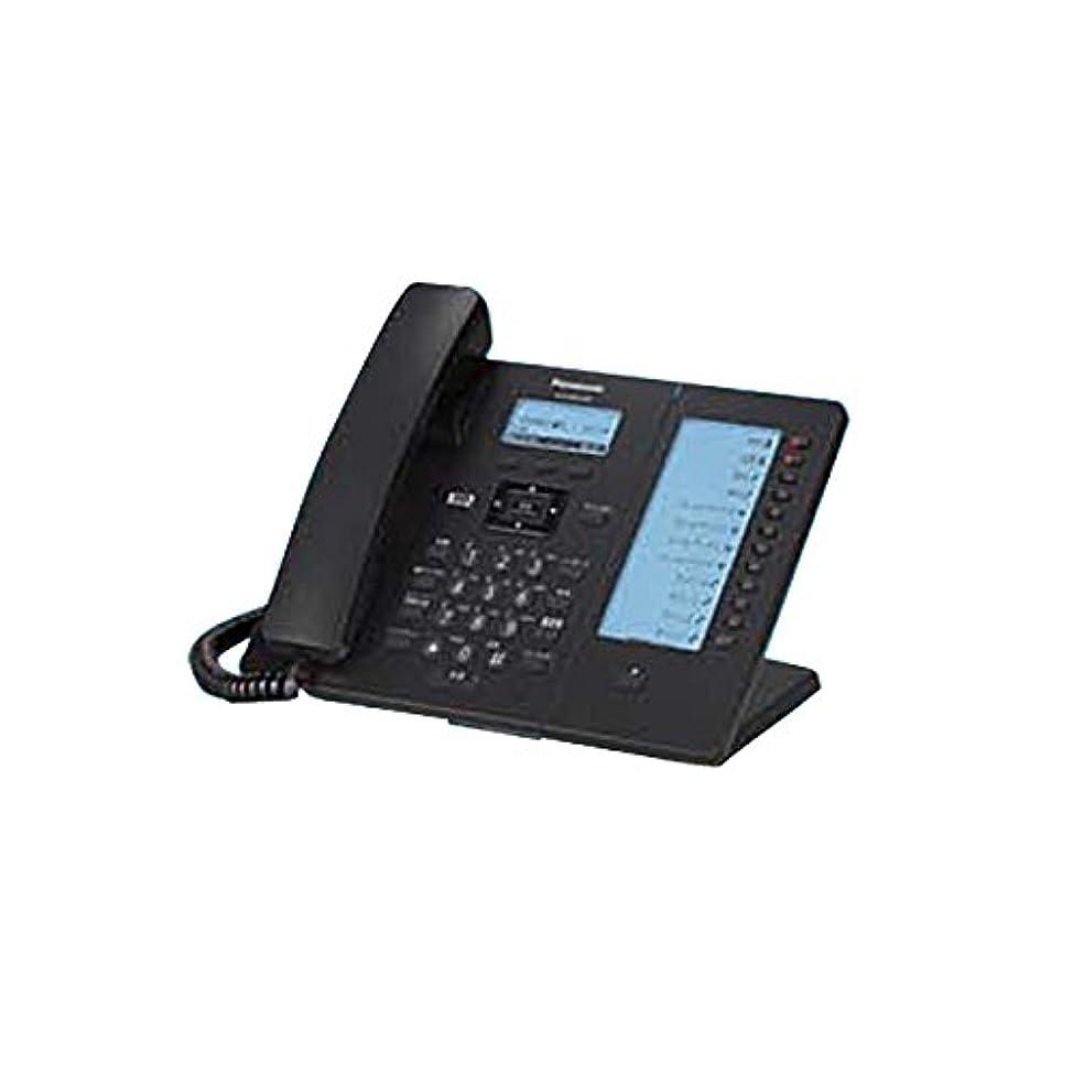 フェザー鈍い検閲パナソニック IP電話機 電子ラベルモデル (黒色) KX-HDV230NB