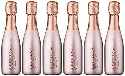 Bottega Rose Gold Pinot Spumante NV 20 cl (Case of 6)