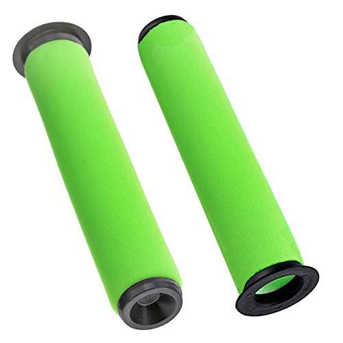 spares2go waschbar Schmutz Bin Stick Filter für Gtech AirRAM MK2K9schnurlose Staubsauger (2Stück)