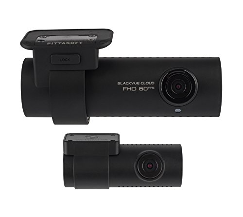 BlackVue DR750S-2CH (16 GB) Front and Rear Cloud Connected Wi-Fi Dash Cam with Wide-Angle Full HD Video at 60 fps/30 fps, Sony STARVIS Night Vision, Parking Mode, GPS and iOS/Android App