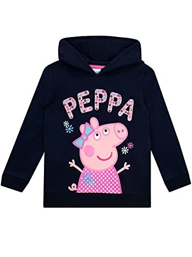 Peppa Pig Girls Hoodie Blue 2-3 Years