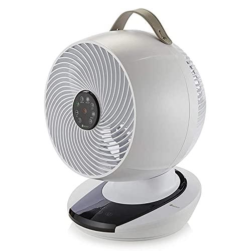 MEACO, Meacofan 1056 Leiser Ventilator - DC Kühlender Ventilator für Schlafzimmer, Schreibtische und Büros, lautloser Betrieb, Schwenkfunktion und Fernbedienung
