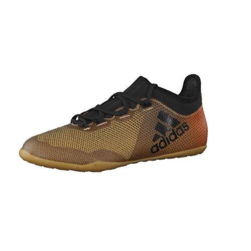 adidas X Tango 17.3 in, Scarpe da Calcio Uomo, Oro (Tagome/Cblack/Solred Tagome/Cblack/Solred), 46 2/3 EU