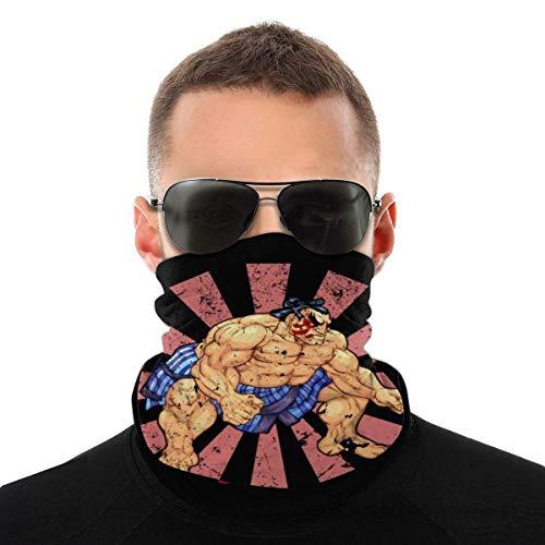 Auld-Shop E Ho-Nda Retro japanische Street Fighter Varietät Kopftuch Gesichtsschutz Magic Headwear Neck Gaiter Gesicht Bandana Schal
