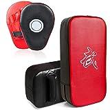 DEWEL Set de Boxeo Entrenamiento - Paos Boxeo Entrenamiento Almohadillas de Impacto de...